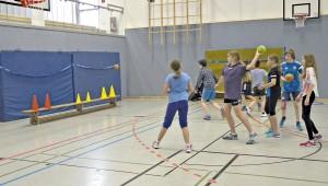 Handball Sportunterricht Sek 1